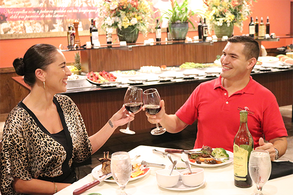 Wine And Churrascaria Meats Are A Great Combination At Terra Gaucha